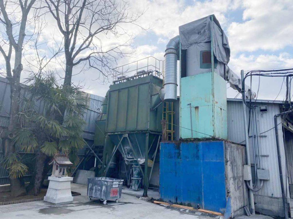 産廃の処理は、和歌山中間処理センターでリサイクル。㈱ワーク